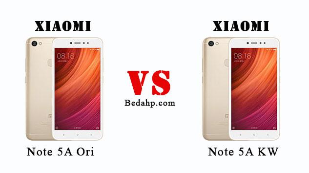 25+ Cara Cek Xiaomi Redmi Note 5A Asli dan Palsu