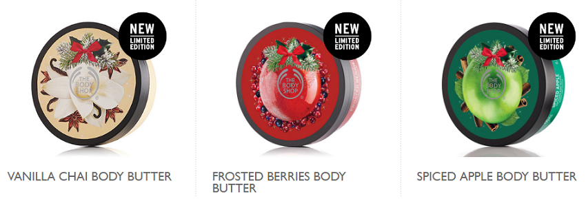 The Body Shop Body Butter $10 (reg $21)