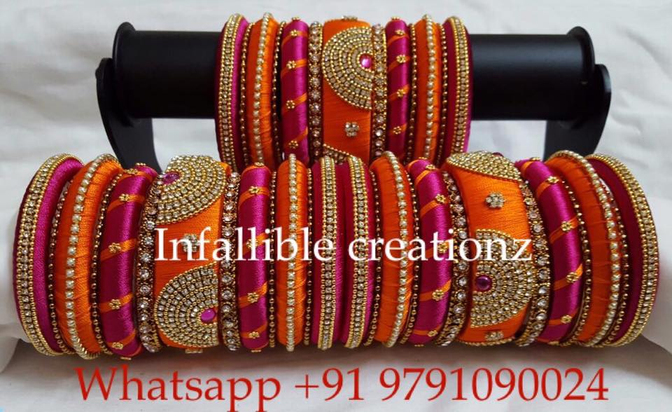 Infalliblecreationz IC - Silk Thread Jewellery: Exclusive Luxury ...