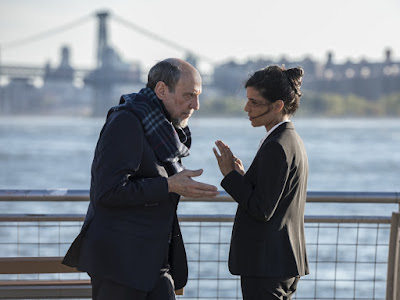 F. Murray Abraham and Hadar Ratzon Rotem in Homeland Season 6 (8)