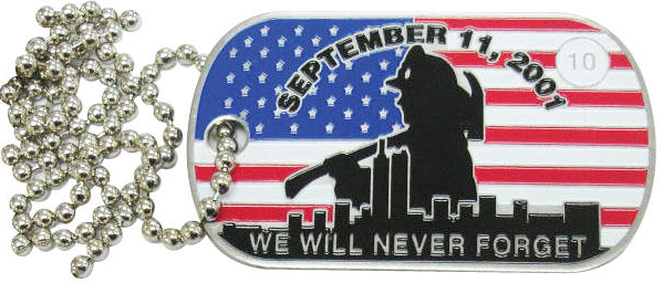 9/11 Patch Project News: 9/11 Dog Tag & Challenge Coin