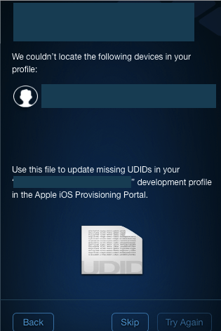 how to add new device into your provisioning profile if it