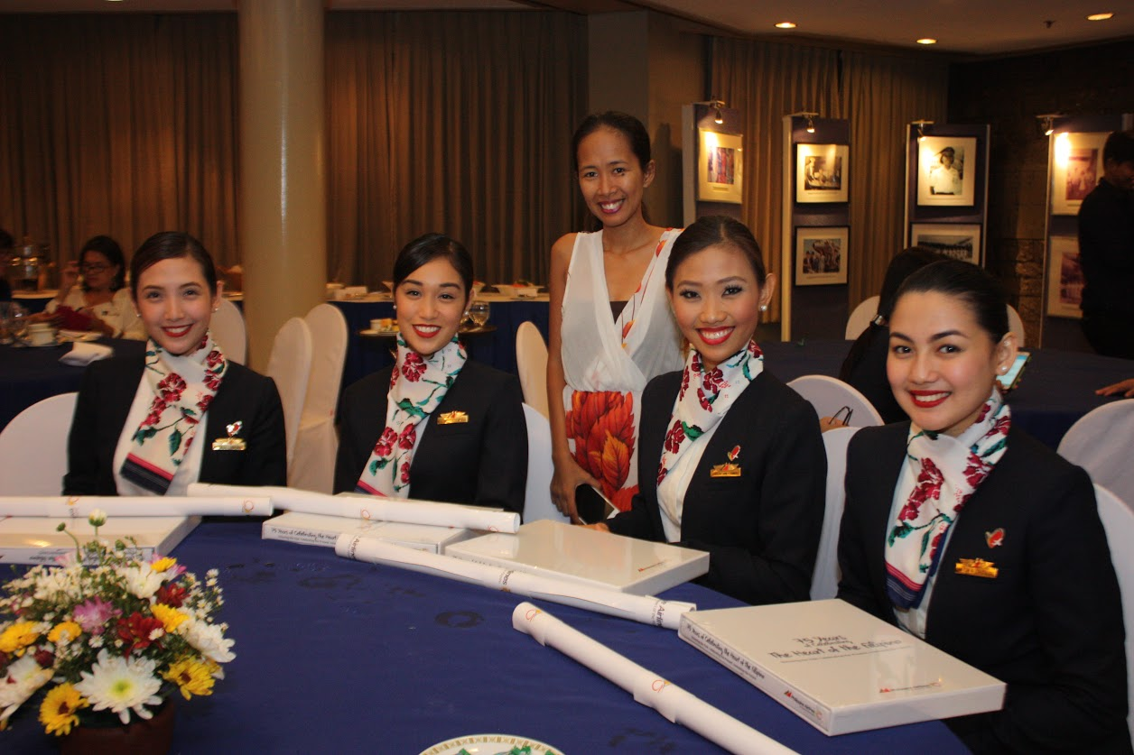 PAL cabin crews and flight attendants
