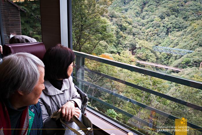 Hakone Free Pass Tozan Cable Car View