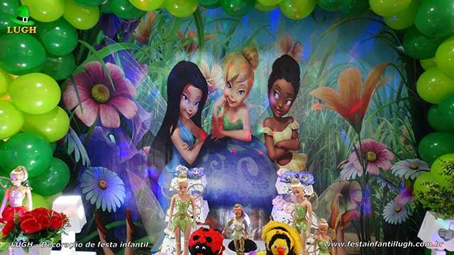 Decoração infantil Tinker Bell - Sininho - Festa de aniversário