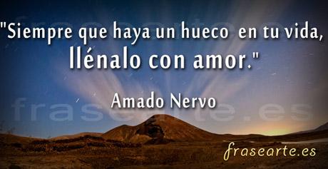 Frases de amor, Amado Nervo