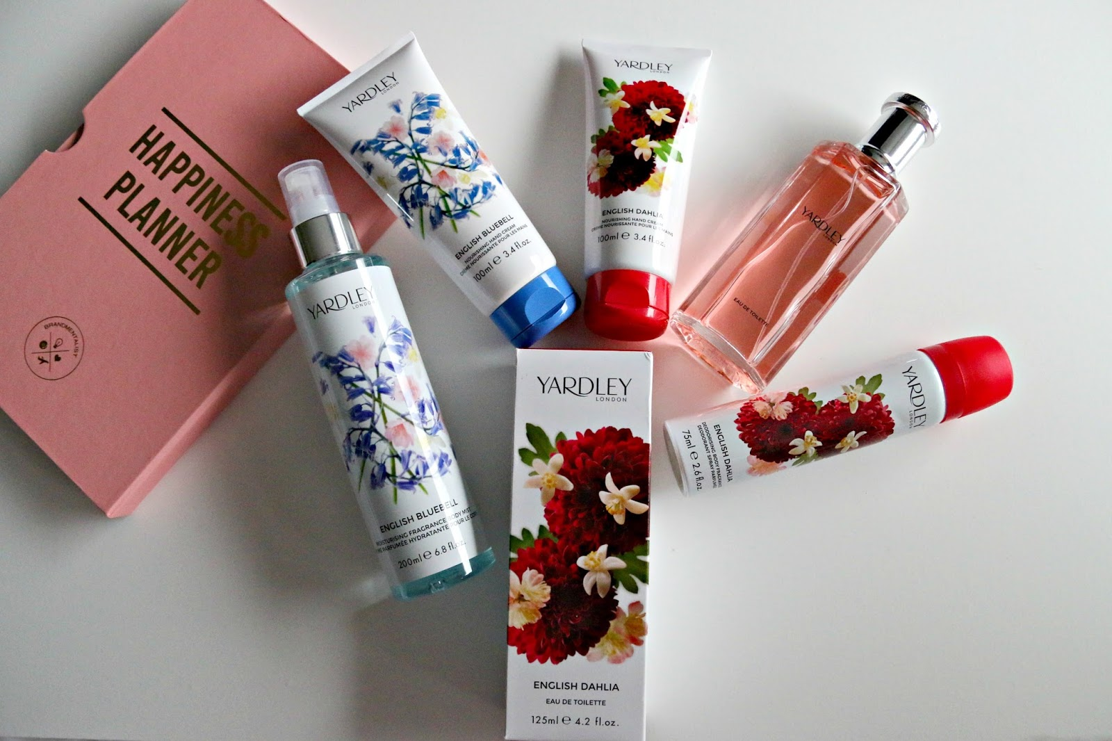 Yardley London English Dahlia and Bluebell Fragrance and Body Care Review Image