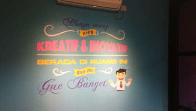 Jasa Lukis Dinding Mural Lettering