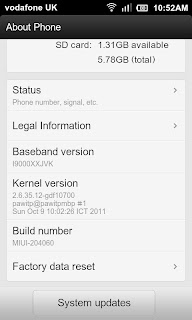 A screen capture of MIUI.us