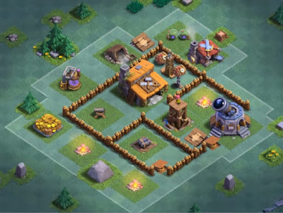 Base Aula Tukang Level 3 Clash Of Clans