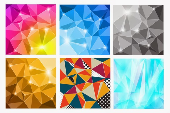 Graphic Design Freebie: Diamond Vector Pattern For Free