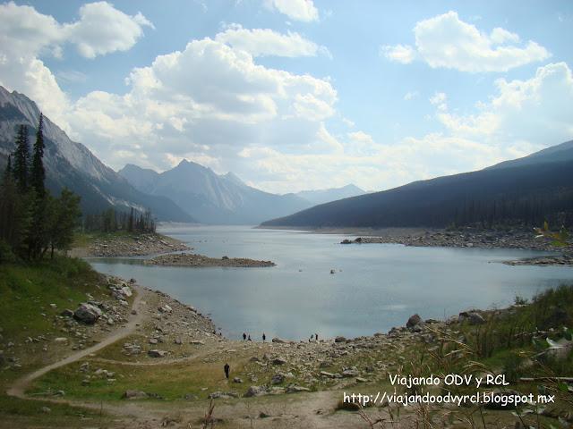 Rocosas Canadienses. Maligne Lake, Jasper Canada. http://viajandoodvyrcl.blogspot.mx