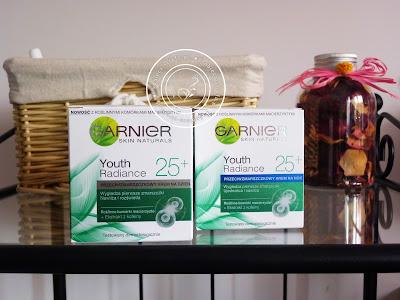 Garnier - Skin Naturals - Youth Radiance 25+ - przeciwzmarszczkowy krem na dzień i na noc - anty ageing day care
