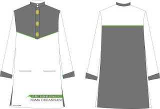 Download Desain baju PDH Akhwat  Format CDR