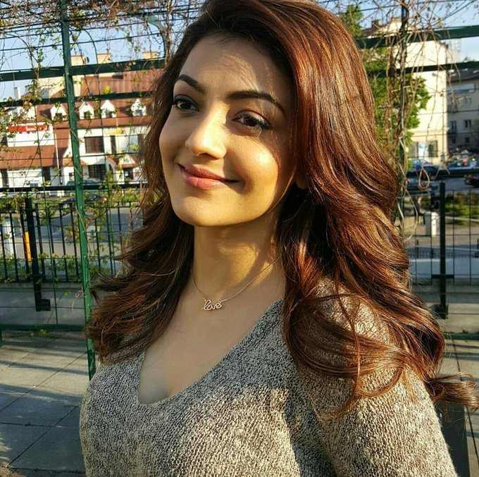 Beautiful Mumbai Girl Kajal Aggarwal Photo Shoot In Black Dress