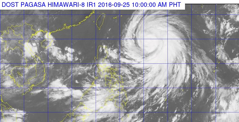'Bagyong Helen' PAGASA weather update September 25, 2016