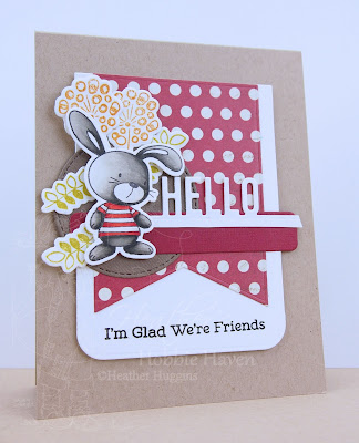 Heather's Hobbie Haven - Just for Fun Saturday Card - Snuggle Bunnies 2