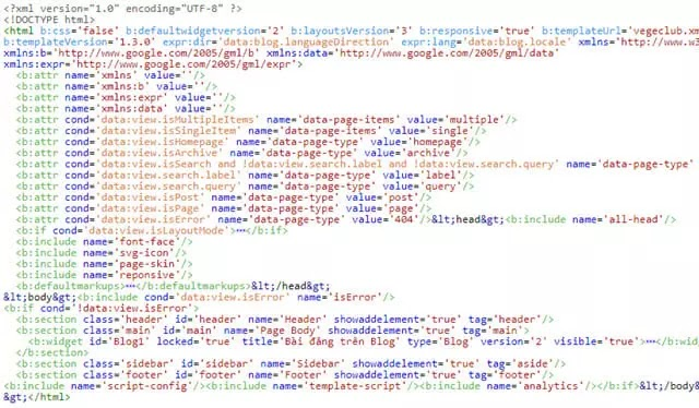 blogger template v3