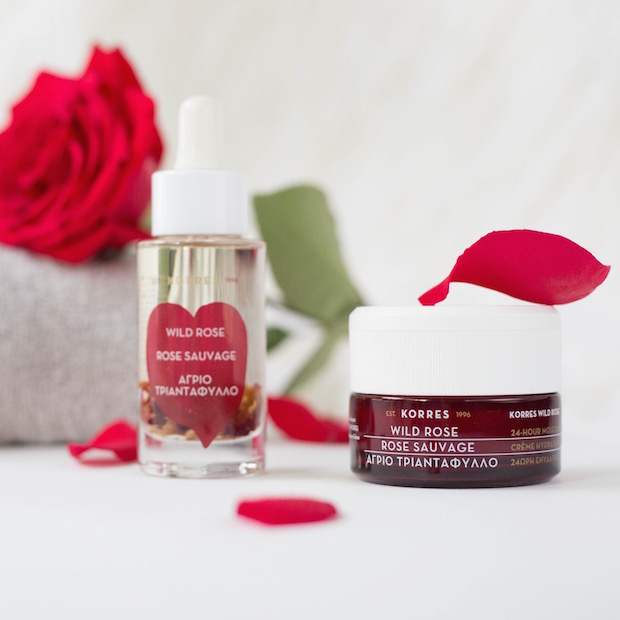 beauty giveaway valentines day gift for her korres wild rose skincare darcy jones the supper model beauty blogger