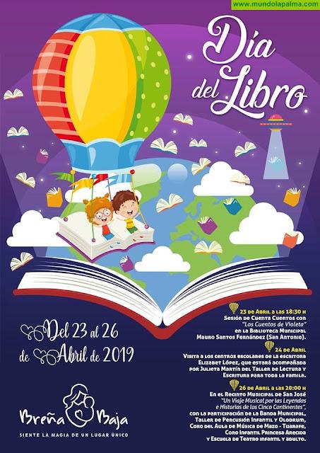 Intensa Semana del Día del Libro en Breña Baja