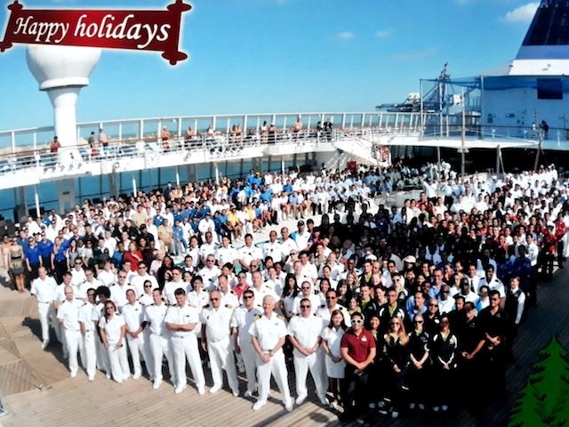 ship crew Christmas