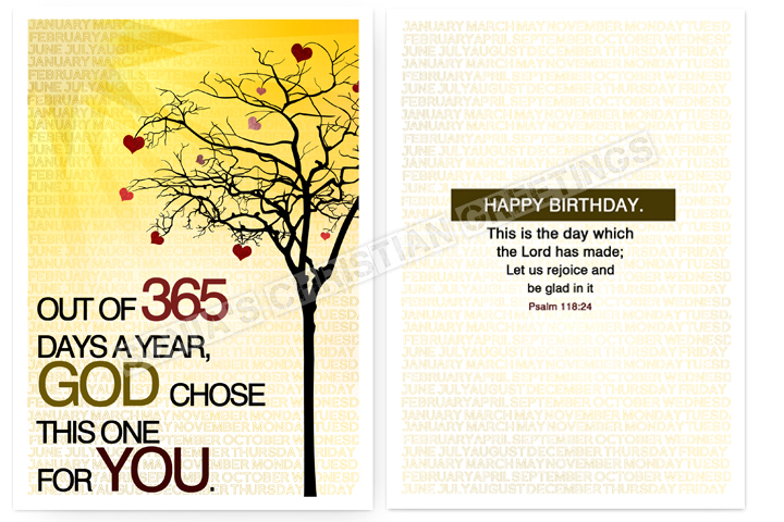 Sonja's Christian Greeting Cards: New Birthday Card
