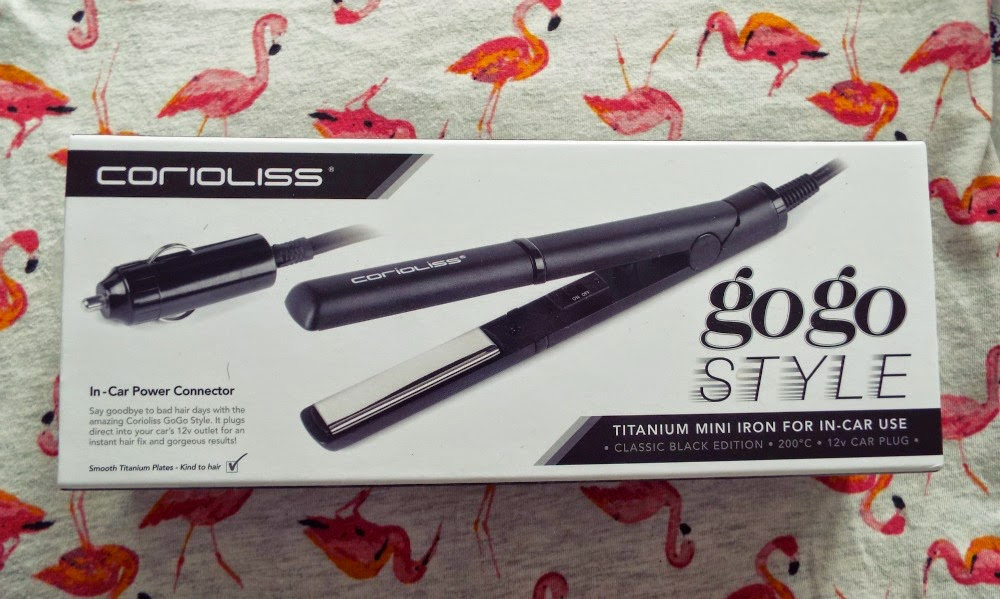 Corioliss GoGo Style In-car Hair Straighteners