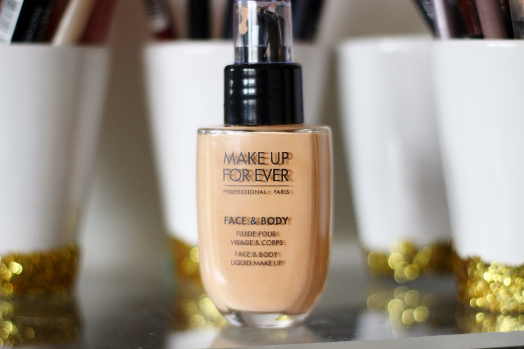 MAKE UP FOR EVER Face & Body Foundation in 32 review and swatch
