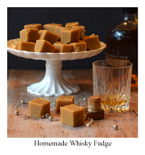 Indulge friends with this Homemade Whisky Fudge.  Made using the traditional method, this fudge recipe is delicious carrying the flavour and aroma of whisky (whiskey).  It's perfect for offering as a gift to loved ones, or even treating yourself.
