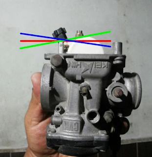Gambar pelampung karburator motor