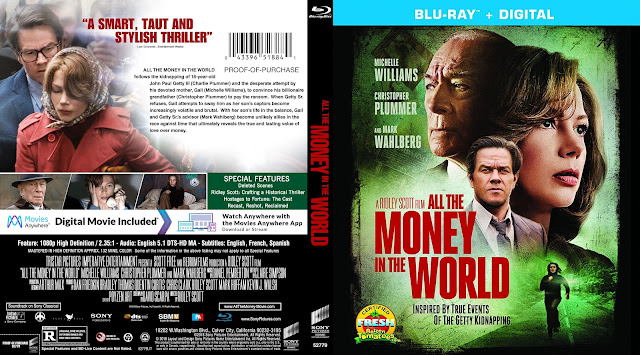All The Money In The World Bluray Cover