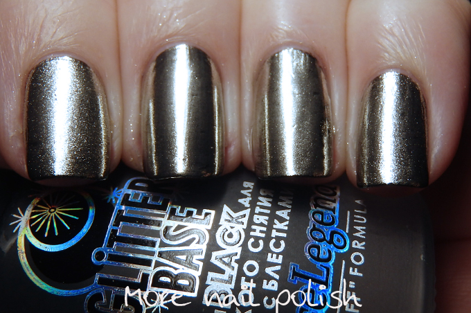 The Polish Chrome Wars Part 4 - What top coats can you use? ~ More ...