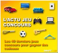 Les 40 derniers jeux concours gratuits du 29-04-2019, Instant gagnant, tirage au sort, concours créatif...