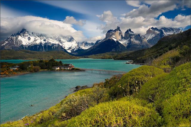 Resultado de imagen de lago pehoe chile