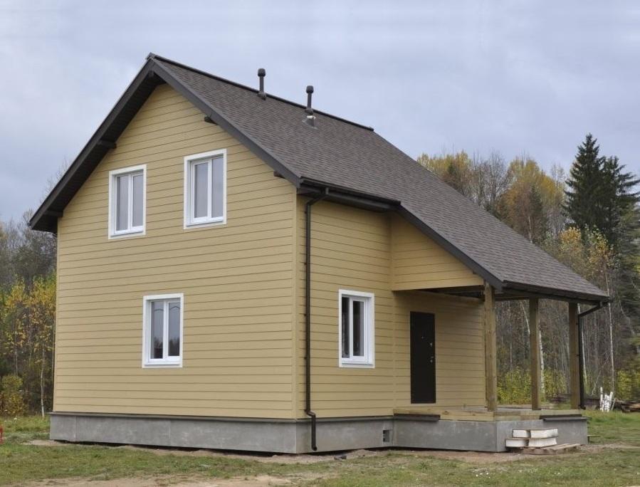 Как построить каркасный дачный дом своими руками недорого