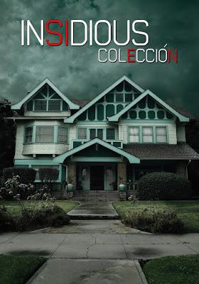 Insidious Colección DVD R1 NTSC Latino