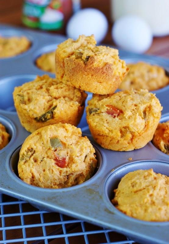Salsa Muffins