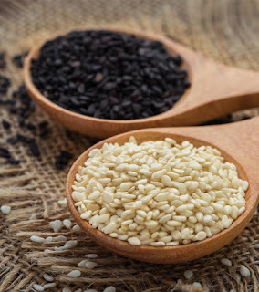 black and white sesame benefits in urdu