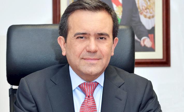 El titular de la Secretaría de Economía, Ildefonso Guajardo Villarreal, declaró que México sí presentará una propuesta en la séptima ronda para modernizar las reglas de origen del sector automotriz. (Foto: SE)