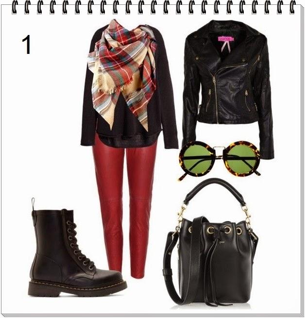 Outfit con el archiconocido pañuelo de Zara