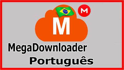 Gerenciador de Downloads MegaDownloader Capa