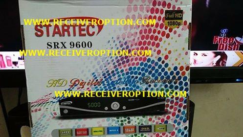 STARTEC SRX 9600 HD RECEIVER BISS KEY OPTION