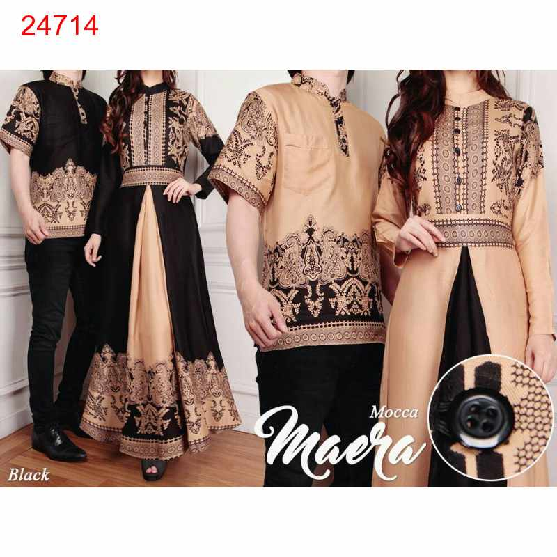 Jual Batik Gamis Couple Maera - 24714