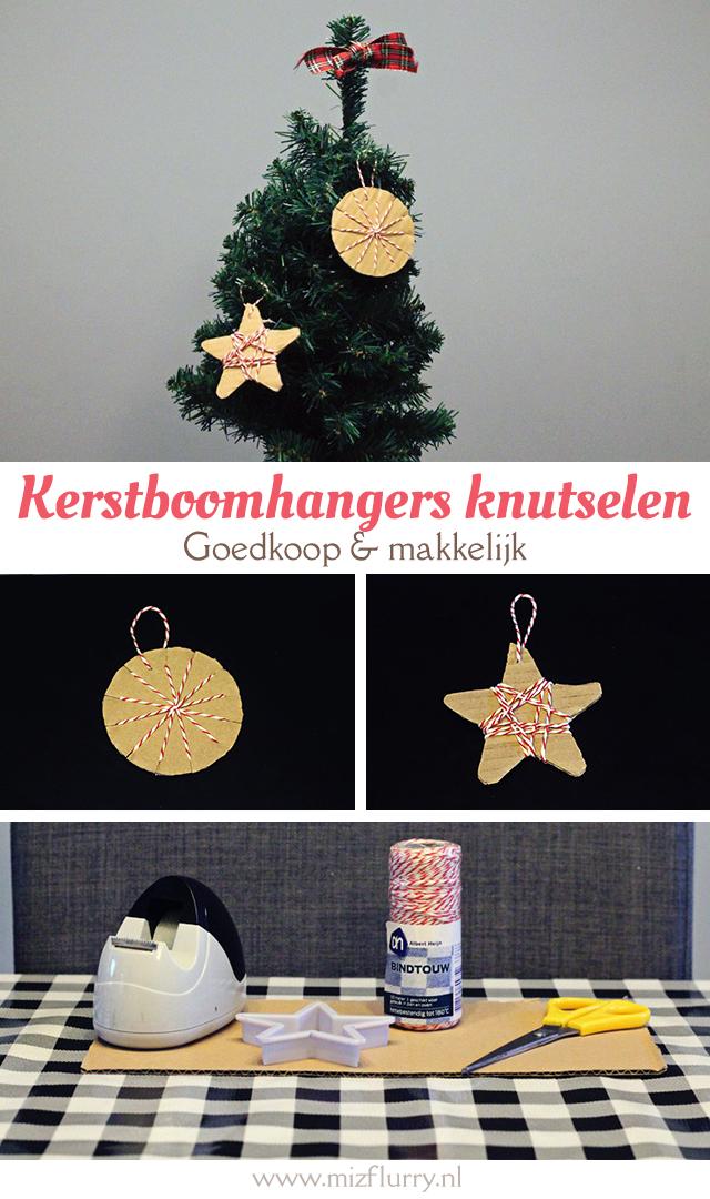 Voor www.wereldvankinderen.nl schreef ik de DIY Kerstboomhangers knutselen met karton en bindtouw. Een mooie, hippe, goedkope en makkelijke knutsel voor in de kerstboom.