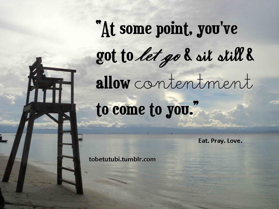 Photograph My Memories: Contentment