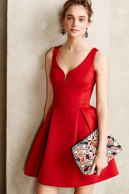 Vestidos de Cóctel Rojos