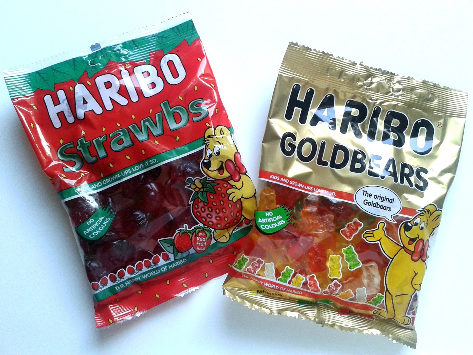 Haribo Strawbs Goldbears Sweets My Long Haul Flight Essentials Beauty Review
