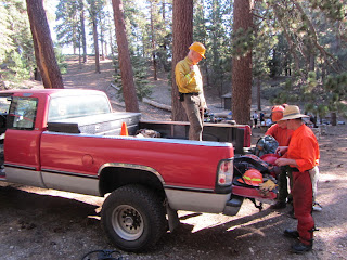 Trailbuilders at Little Jimmy Trail Camp