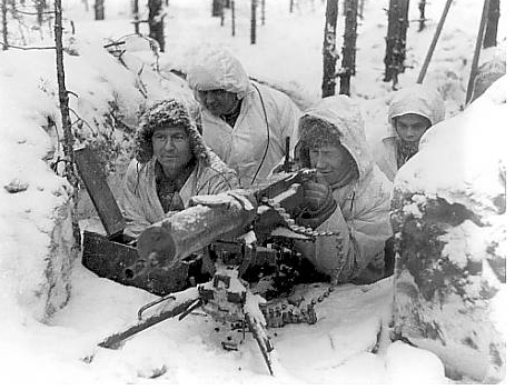 Finnish Soldiers WW2 Winter War
