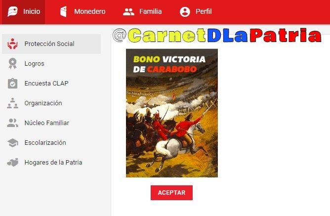 ¡Atención! Inicia entrega del Bono Victoria de Carabobo: este sábado se activa la aplicación VeQR